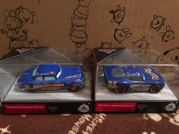 ★ cars3 カーズ3 ファビュラス マックィーン fabulous ハドソン ホーネット ディズニー ストア 限定 希少 新品未開封 ディズニーグッズの画像