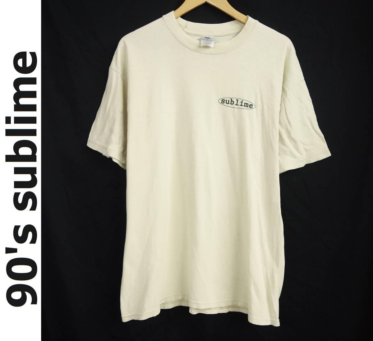 希少 90's sublime サブライム 40oz. to freedom Tシャツ L 入手困難 1stアルバム 90年代 ヴィンテージ
