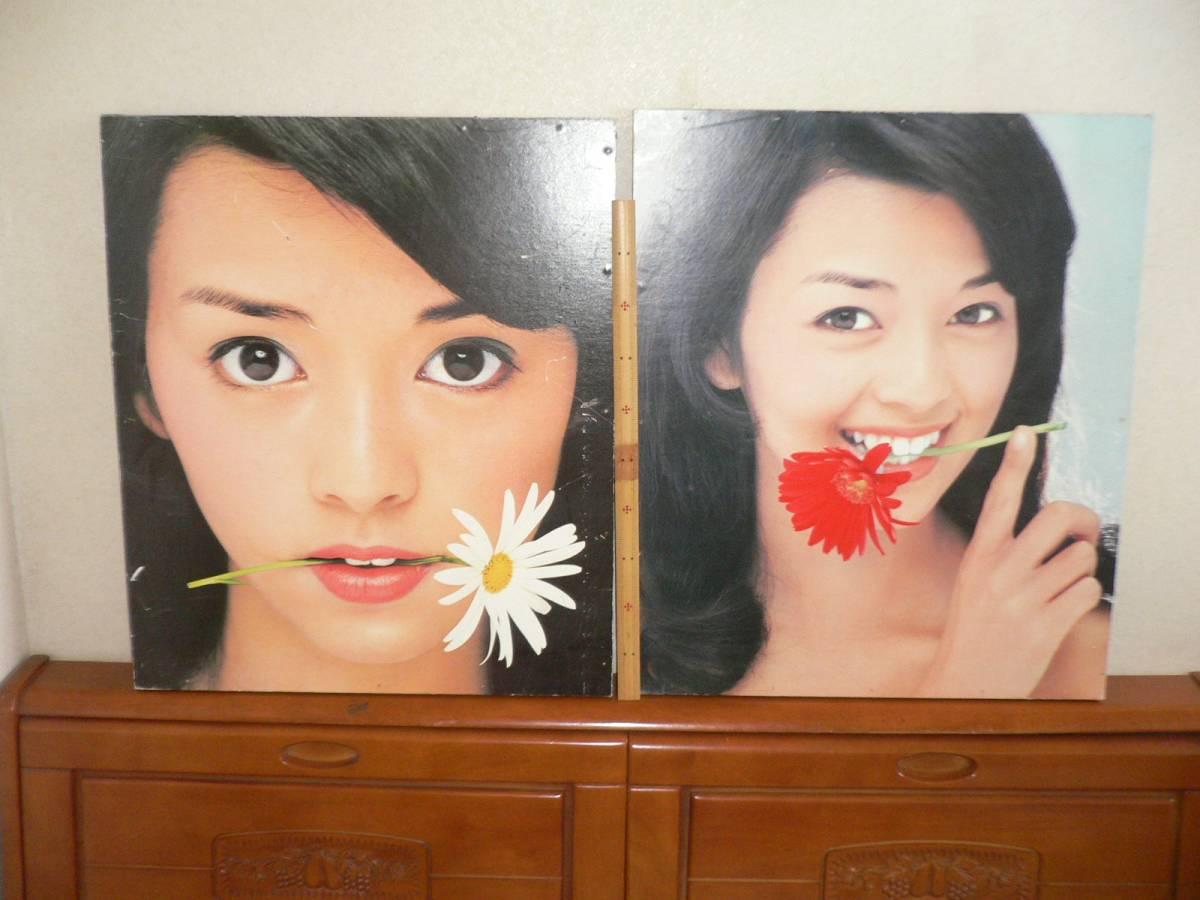 岡田奈々 パネルポスター2種 少擦れあり