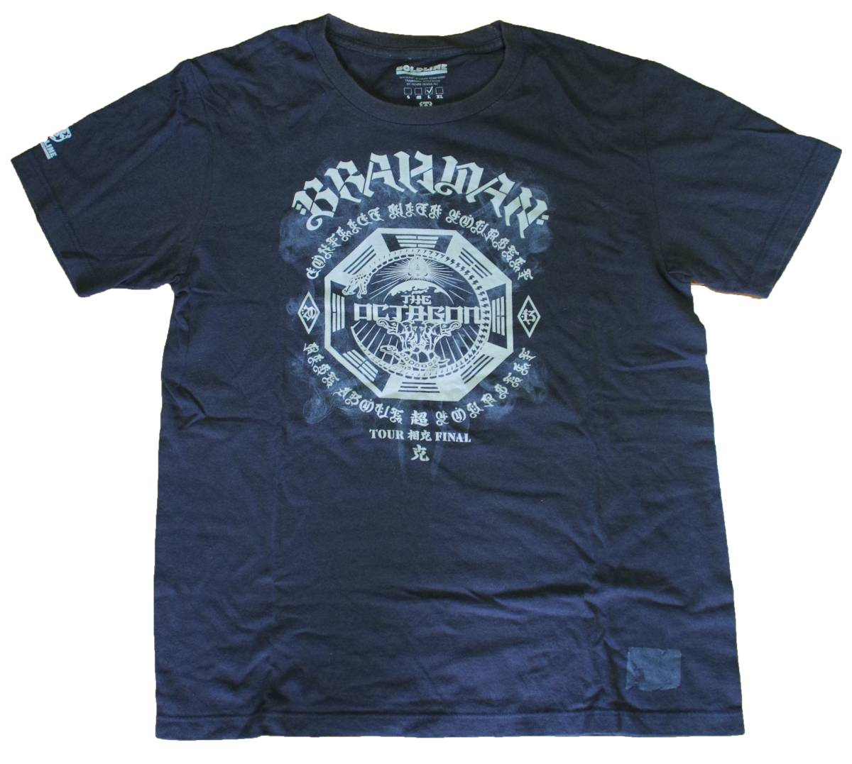 【送料無料】BRAHMAN ブラフマン Tシャツ 5 ライブグッズの画像