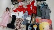 ☆☆当時物レア MATTEL オールド バービー タグ付洋服 人形 レコードブック サインノート ドールケース ビンテージ 米国直輸入 ☆☆