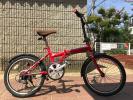 【引取限定】ランボルギーニ 折り畳み自転車