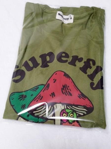 Superfly きのこ Tシャツ スーパーフライ Sサイズ