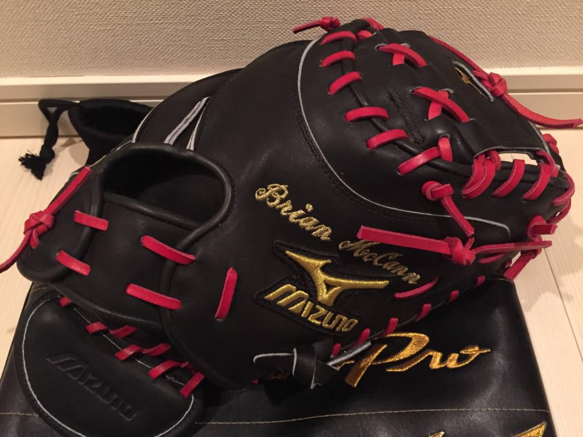 ブライアン・マイケル・マッキャン Brian McCann 実使用 キャッチャーミット 日本製 MLB ブレーブス ヤンキース アストロズ ミズノプロ グッズの画像