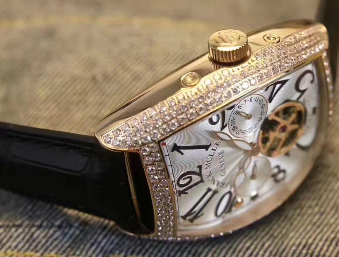 新品 希少 FRANCK MULLER メンズ 自動巻 フランクミュラー 腕時計_画像2