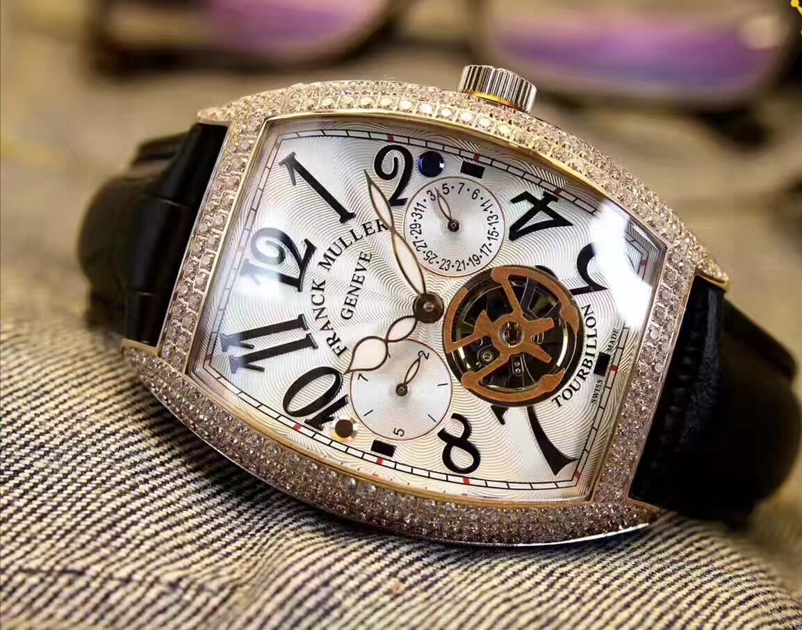 新品 希少 FRANCK MULLER メンズ 自動巻 フランクミュラー 腕時計