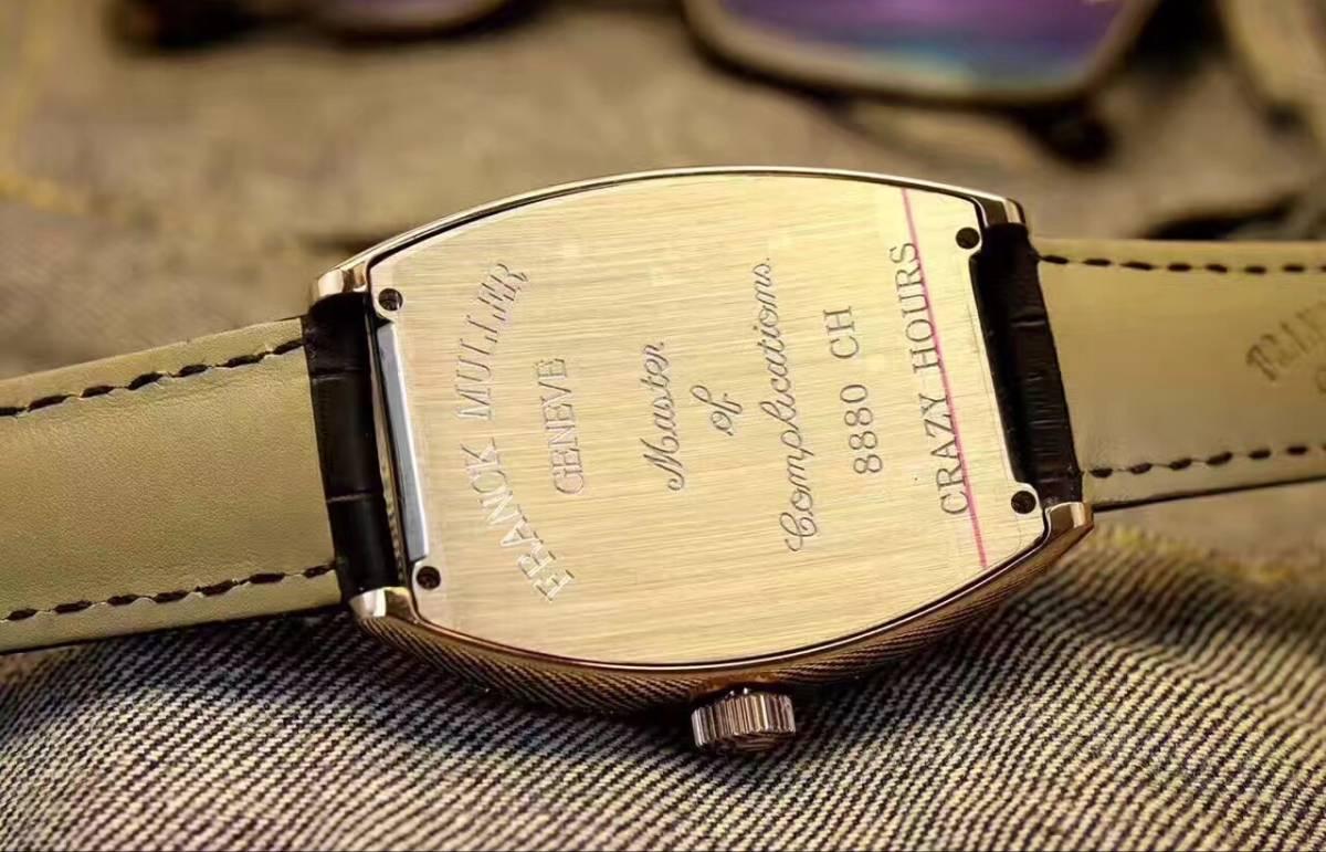 新品 希少 FRANCK MULLER メンズ 自動巻 フランクミュラー 腕時計_画像3