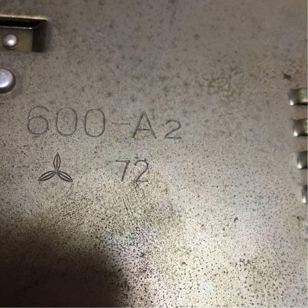 ほ19) 昭和 黒電話 インテリア600-A2 72 汚れ有り_画像3