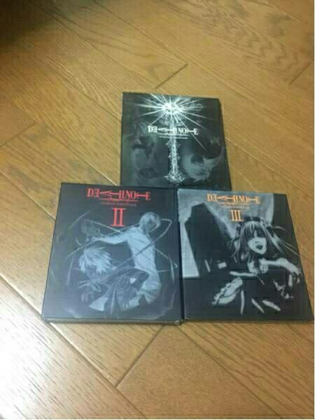 アニメ デスノート オリジナル サウンドトラック Ⅰ Ⅱ Ⅲセット レンタル落ち グッズの画像