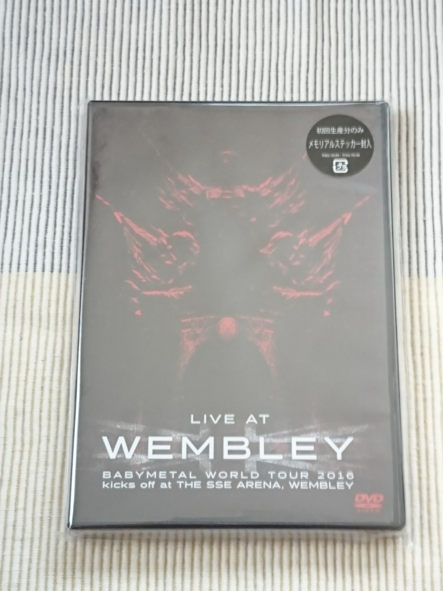 LIVE DVD LIVE AT WEMBLEY BABYMETAL WORLD TOUR 2016 kicks off at THE SSE ARENA,WEMBLEY ライブグッズの画像