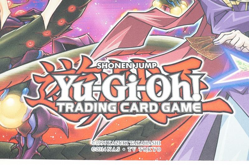 即決価格で送料無料! 遊戯王 公式プレイマット☆ユーリ スターヴ・ヴェノム・フュージョン・ドラゴン_画像3