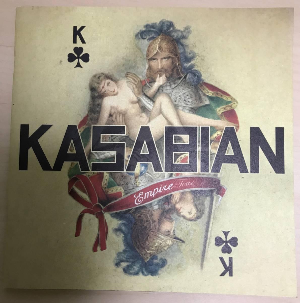 Kasabian 2007 Empire Tour ツアーパンフレット カサビアン サマソニ フジロック