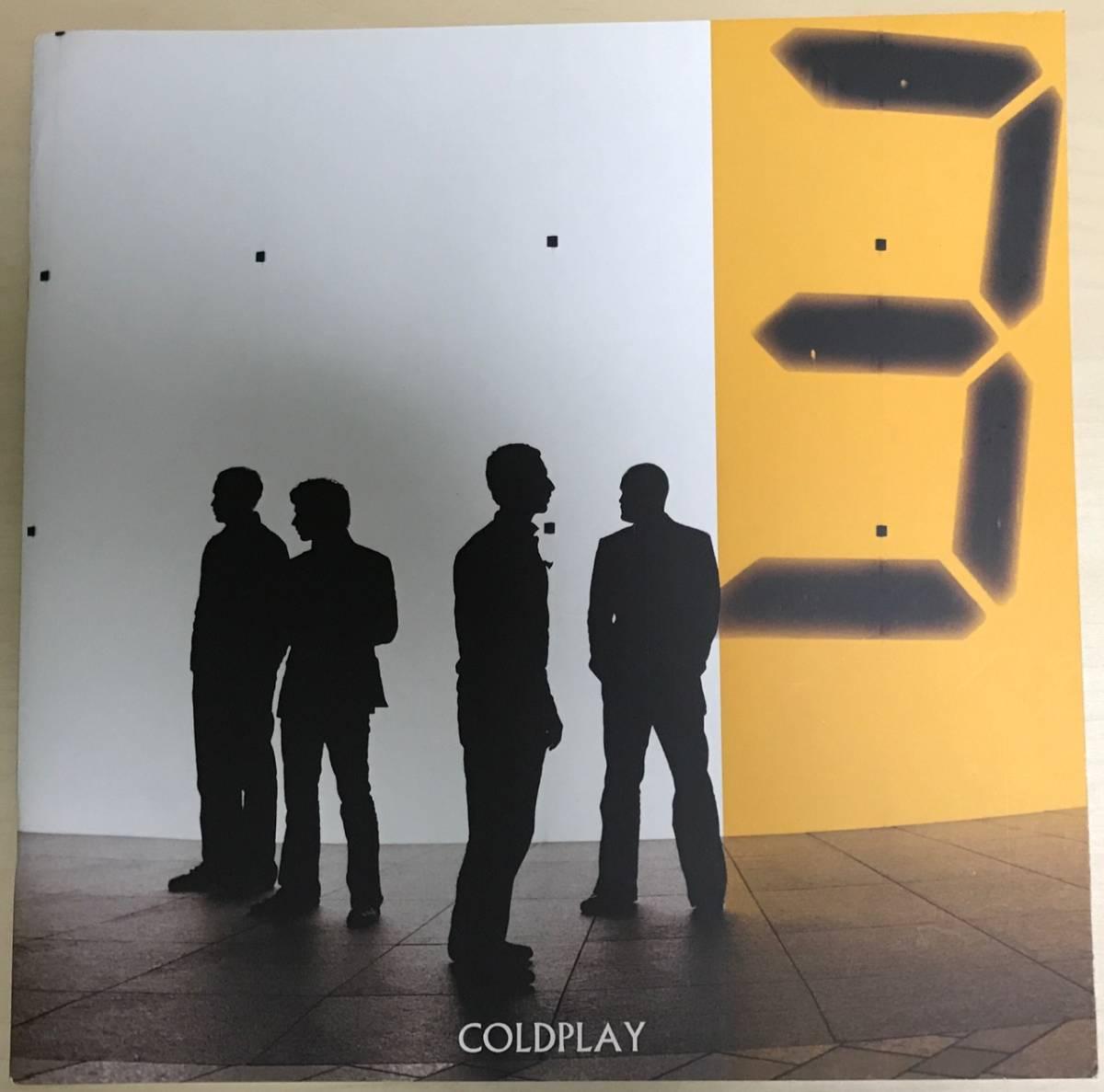 Coldplay 2006 X & Y ツアーパンフレット コールドプレイ フジロック サマソニ