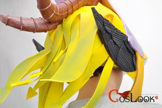 【1円スタート】【CosLook】魔人探偵脳噛ネウロ 頭 コスプレ小道具_魔人探偵脳噛ネウロ 頭