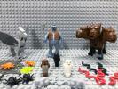 ☆ハリーポッター☆ レゴ 動物ミニフィグ 大量20体 トロール ヒッポグリフ 三頭犬 フクロウ クモ ヘビ ネズミ LEGO 人形 ハリポタ