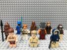 ☆スターウォーズ☆ レゴ ミニフィグ 大量10体 レイア姫 アナキン ランド ハンソロ ウーキーウォーリアー など LEGO 人形 兵士