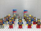 ☆スケイルアーマー☆ レゴ ミニフィグ 大量20体 兵士 騎士 鱗の鎧 兜 LEGO 人形 お城シリーズ