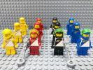 ☆1980年代☆ レゴ ミニフィグ 大量12体 宇宙飛行士 LEGO 人形 スペース 月面探査