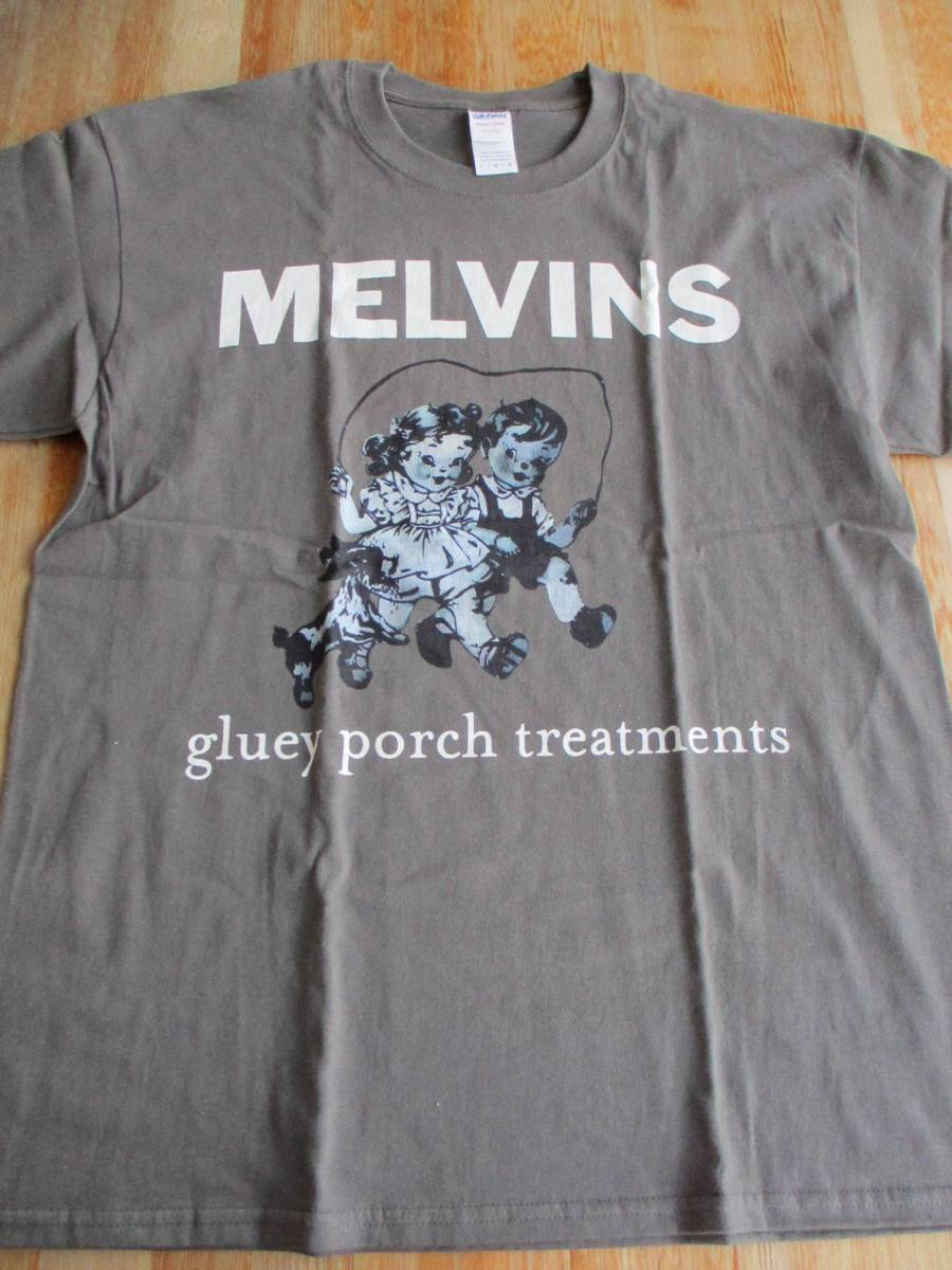 MELVINS Tシャツ Gluey Porch Treatments グレーL / メルヴィンズ kyuss sleep high on fire fu manchu pearl jam