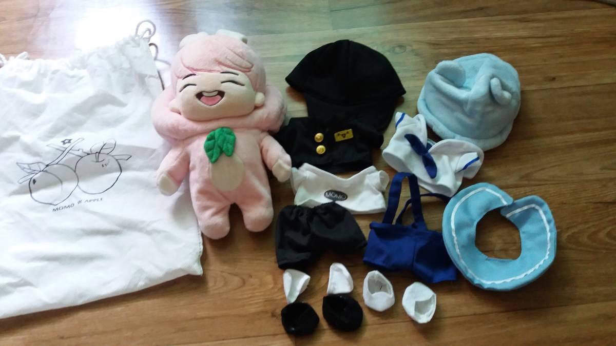 韓国 SHINEE ぬいぐるみ モモ ONEW ライブグッズの画像