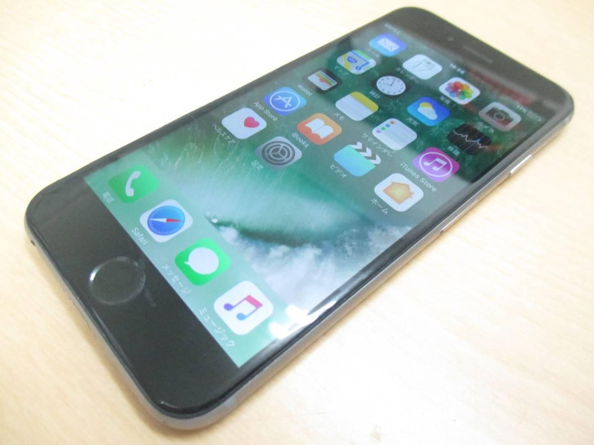 ◆◇1スタ au ○判定 iPhone6 64GB MG4F2J/A グレー 中古品◇◆