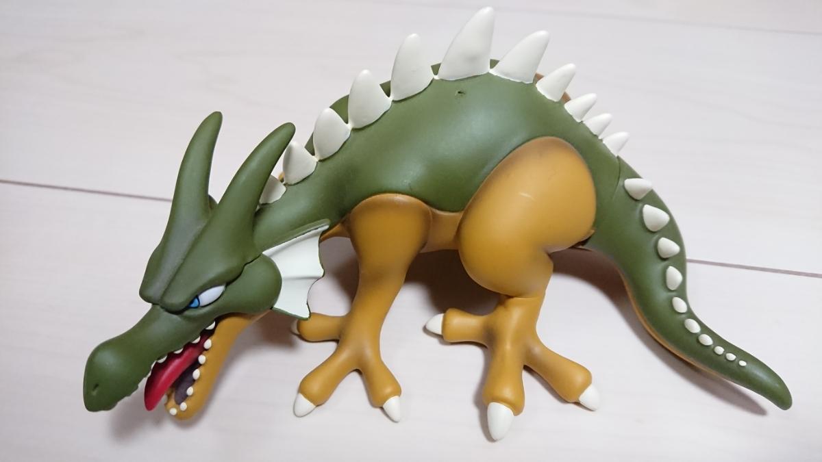 ドラゴンクエスト ソフビモンスター ドラゴン 美品 ドラクエ ソフビ フィギュア グッズの画像