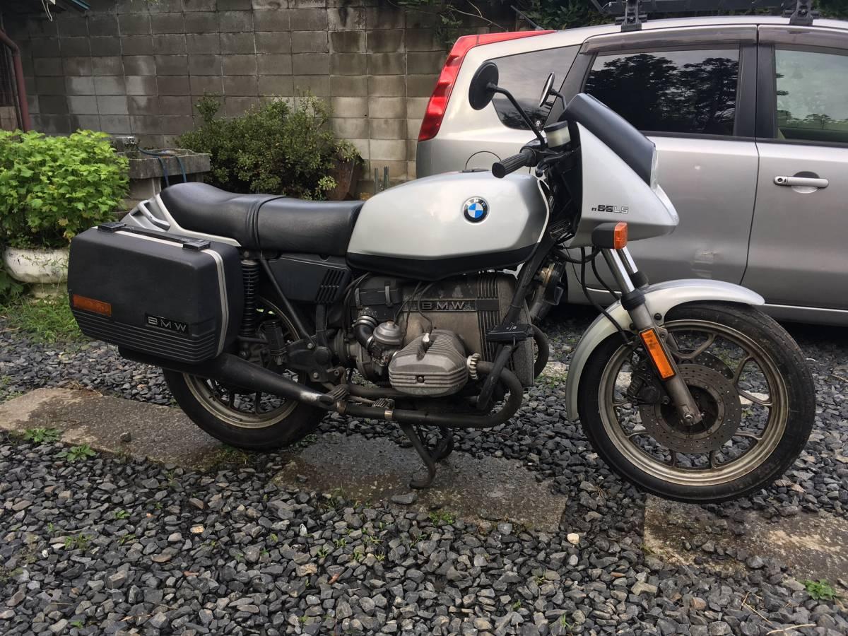 BMW R65LS (1985)正規輸入車 ハンス・ムート デザイン レア! 機関好調、セル一発!タ