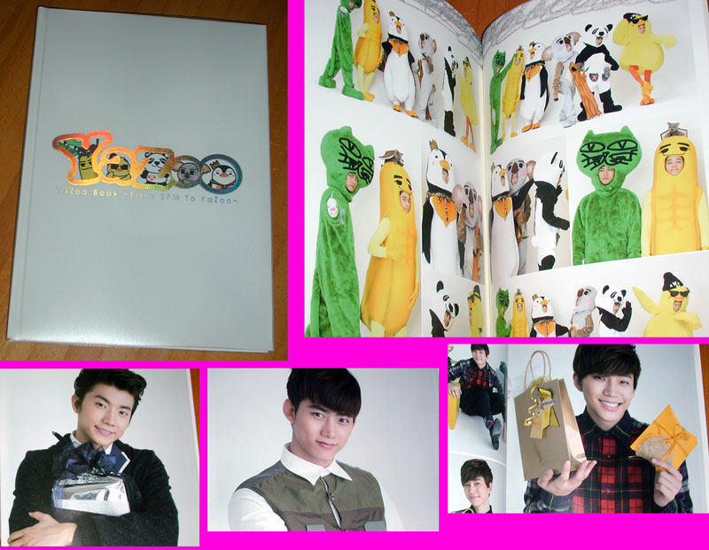 2PM公式写真集 Yazoo Book ジュノ 皇帝ペンペン テギョンOKCAT ウヨン ピヨン JUN.K Pan.k チャンソン チャンナナ ニックン コアラクン