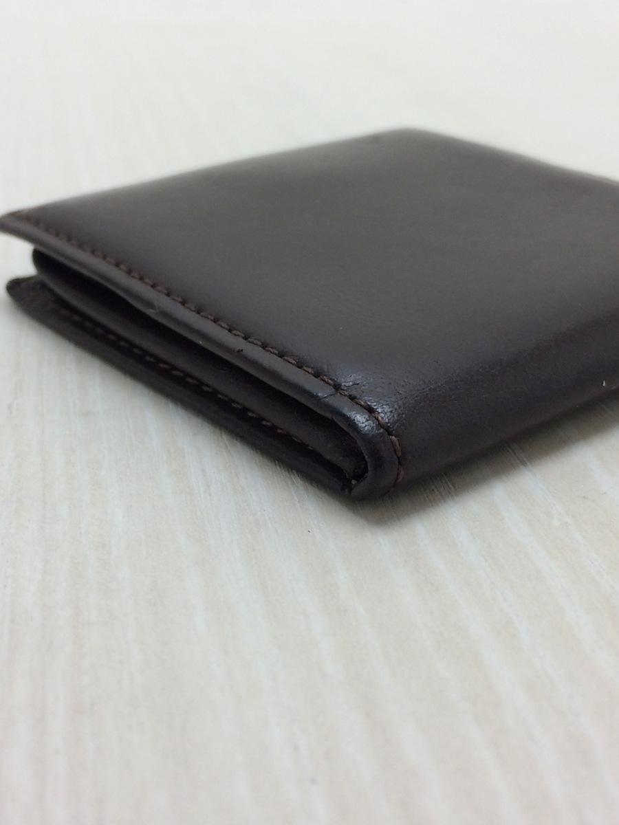 土屋鞄◆コンフィオ ヌメ革BOX小銭入れ/コインケース/レザー/BRW_画像5