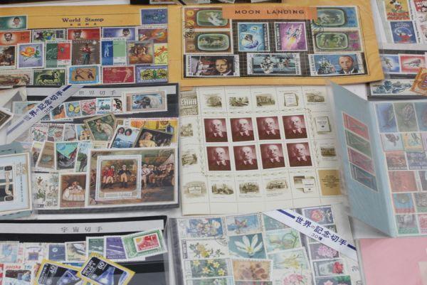 ■世界の記念切手 使用済み 未使用含む ドイツ 中国 初日カバー 等々 大量セット ■_画像2