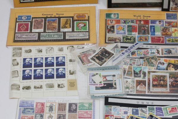 ■世界の記念切手 使用済み 未使用含む ドイツ 中国 初日カバー 等々 大量セット ■_画像3