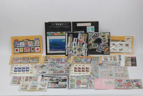 ■世界の記念切手 使用済み 未使用含む ドイツ 中国 初日カバー 等々 大量セット ■