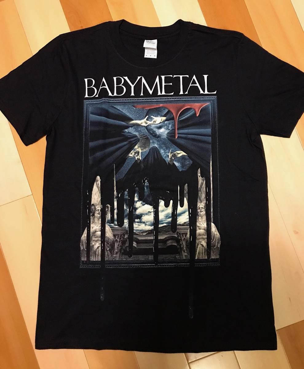 新品 BABYMETAL WORLD TOUR 2016 NOIR Tシャツ Mサイズ 正規品 購入レシート有り 白タグ 日本未発売 SU-METAL YUIMETAL MOAMETAL ライブグッズの画像