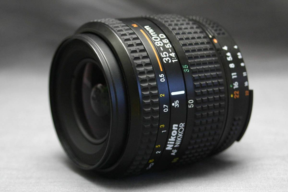 Nikon ニコン純正 35-80mm AF ズームレンズ (MACRO) 作動品