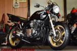 Kawasaki ゼファー400 カスタム多数 CRキャブ SANSEIセパハン バックステップ 新品NGKプラグ WAKO,Sオイル交換済み 機関良好 E/G絶好調