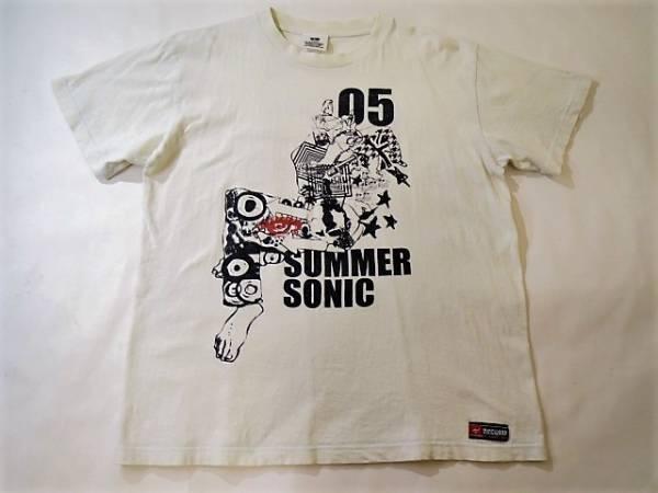 SUMMER SONIC 2005 サマソニ★夏フェス Tシャツ★L★白