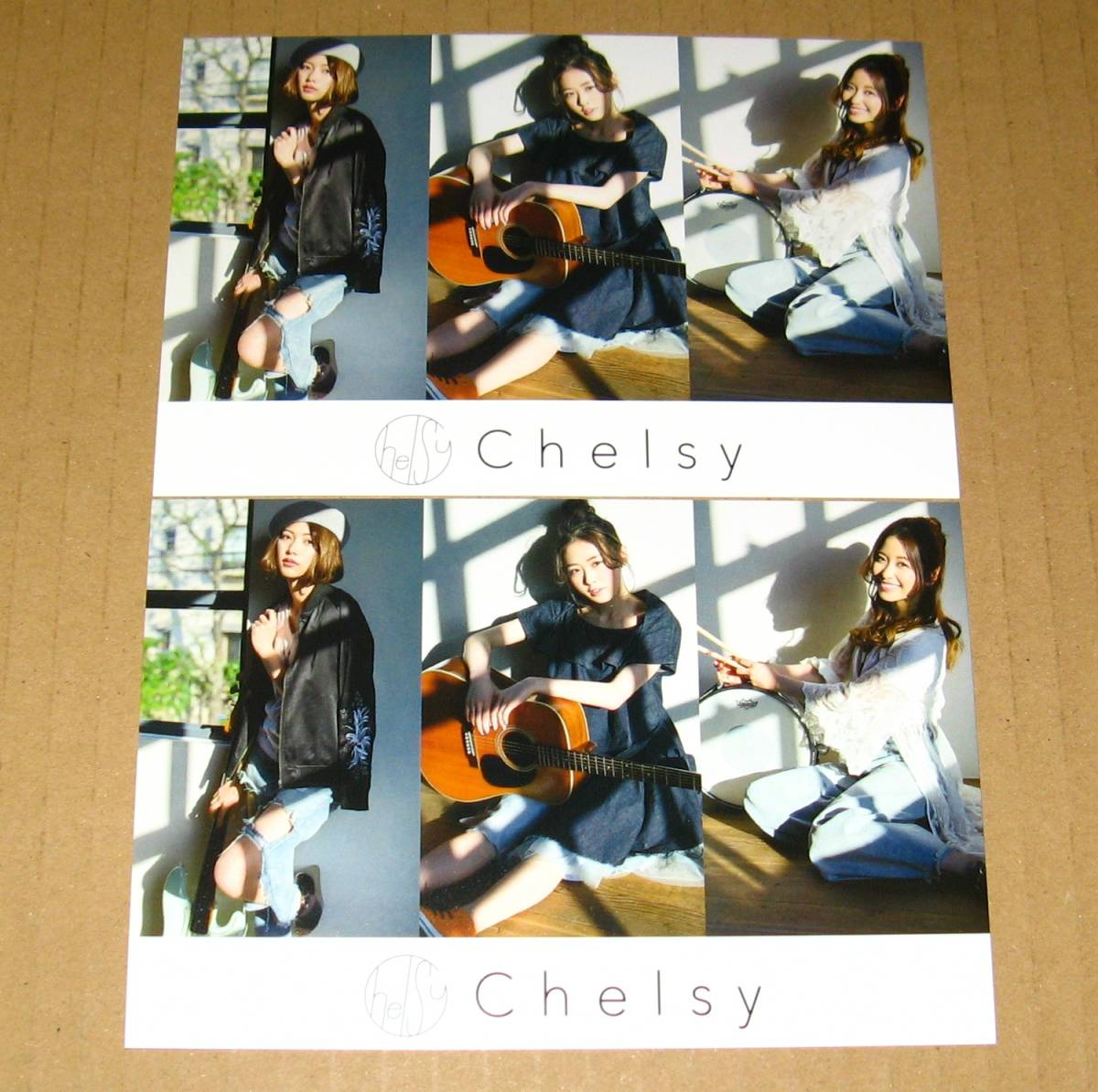Chelsy [WILL BE FINE TOMORROW] イベント限定ポストカード 2枚セット