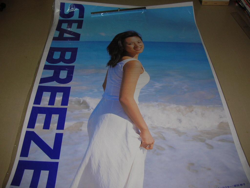 深田恭子 告知ポスター シーブリーズ 1999年 B2サイズ(51.5cm×72.8cm)