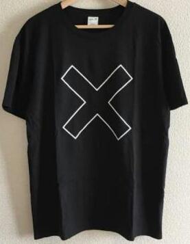 Mサイズ 送料205円 FUJI ROCK 2017 フジロック The xx FOIL OUTLINE Tシャツ 黒x白 ザ・エックスエックス サマーソニック サマソニ BEAMS