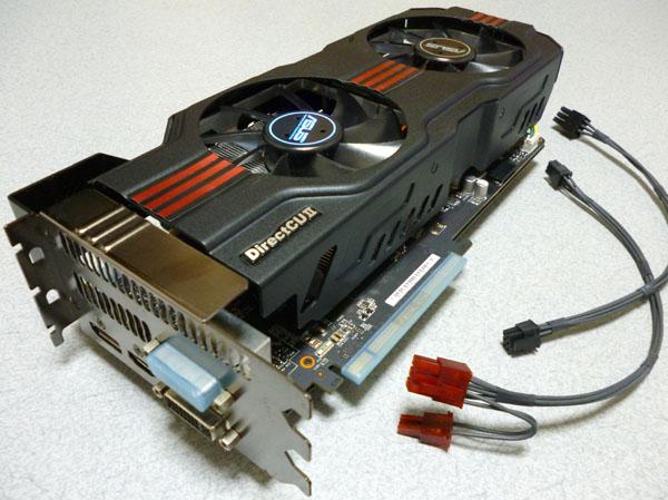 MacPro2009~2012用 最強グラフィックカード 専用ケーブル付き!ASUS GTX680 for MacPro/オーバークロック仕様(起動時Appleマーク出ます)