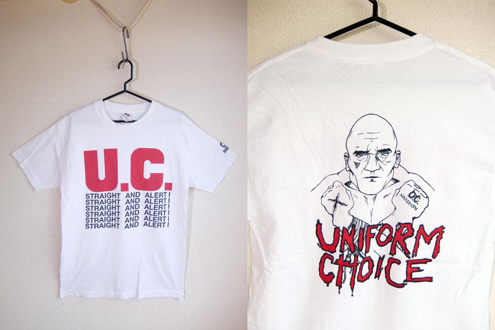 UNIFORM CHOICE ユニフォーム チョイス Tシャツ/ストレートエッジ YOUTH OF TODAY