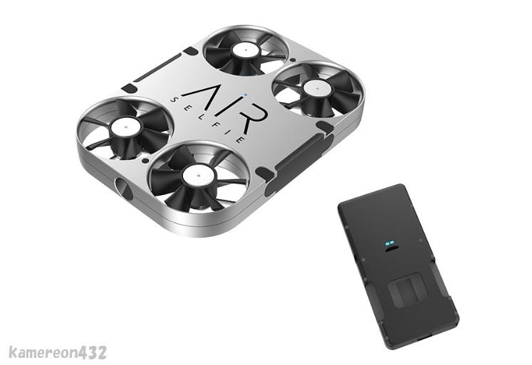 [AirSelfie E03★パワーバンク付き] WiFi FPV 5.0MP HDカメラ RC 小型セルフィードローン_画像1