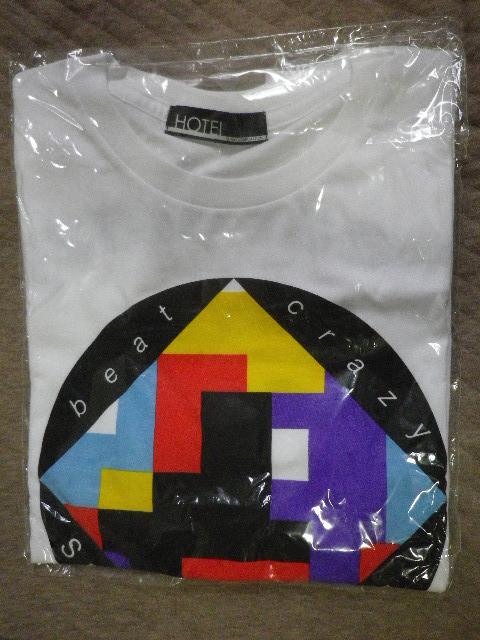 新品 ライブ会場限定 布袋 寅泰 BEAT CRAZY SPECIAL GIG B.C ONLY+1 2015 Tシャツ XS ホワイト