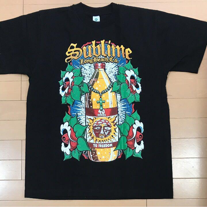 L.A購入!Sublimeサブライム Tシャツ!ボトル サイズM