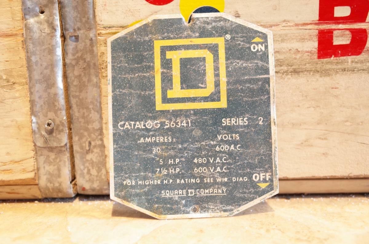 アメリカ 看板 ロードサイン ビンテージ USA 企業物 スイッチ レディキロ プレート 米軍放出 アメ車 mooneyes 世田谷ベース ホットロッド_画像1