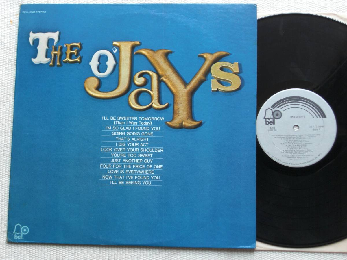 US盤 LP The O'Jays / The O'Jays (Bell Records BELL 6082 ) _画像1