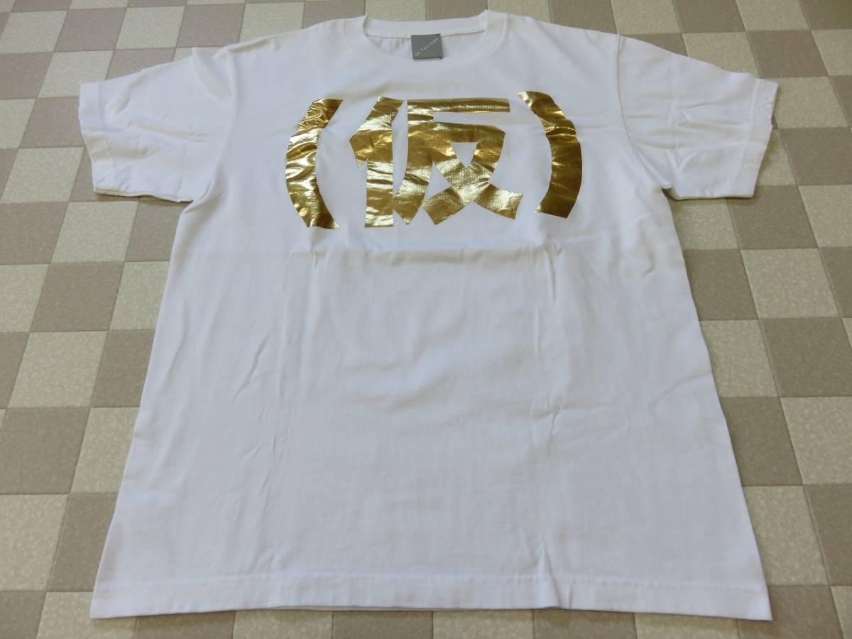 アップアップガールズ(仮) 2014年夏 Tシャツ 白 金箔 Mサイズ その2 ライブグッズの画像