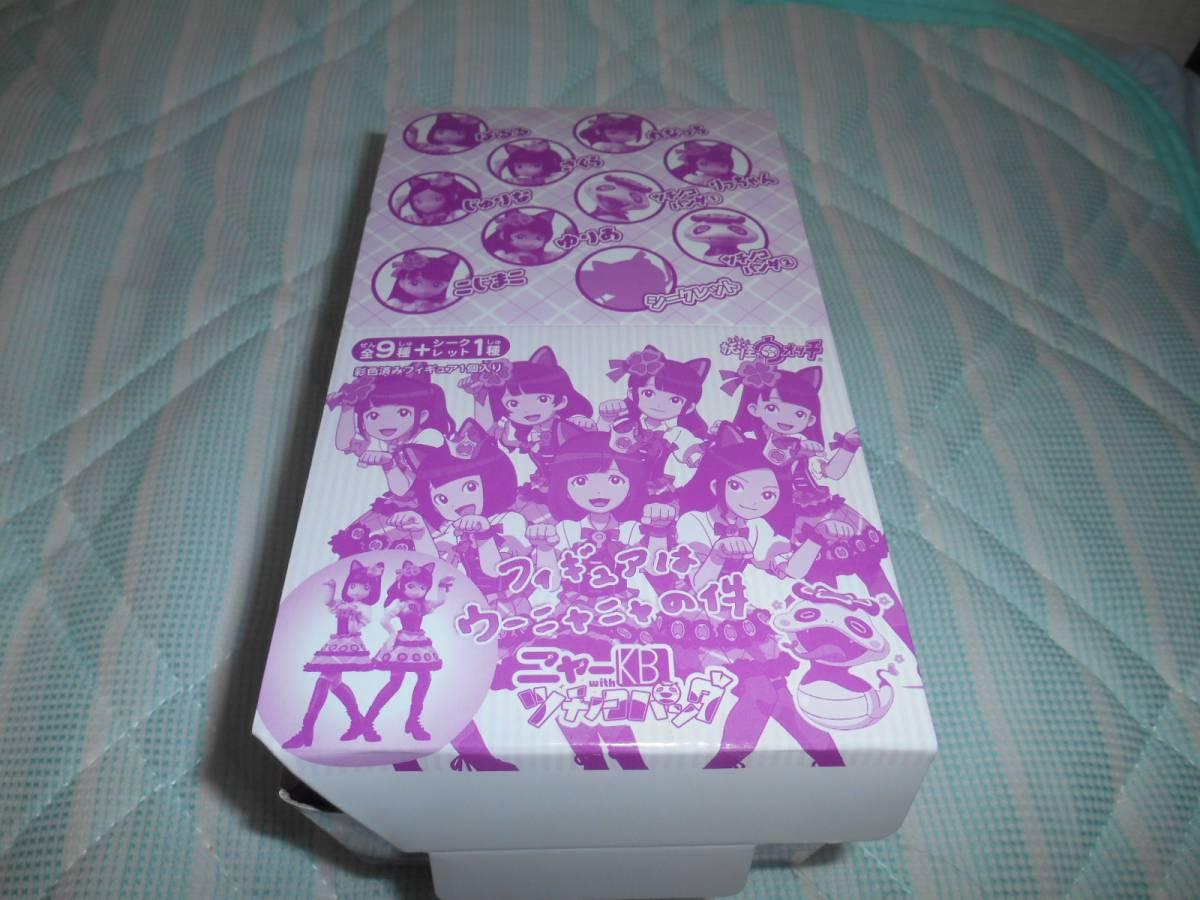 oo64 ニャーKBツチノコパンダ AKB48 妖怪ウォッチ フィギュア 全10種 ぱるる れなっち じゅりな・・・
