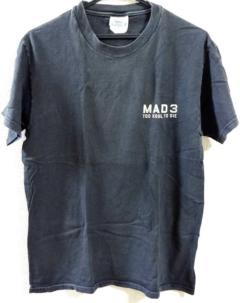 Mad 3 Ace Of Spades Tシャツ ヴィンテージ Eddie Legend,King Rocker,Hell Racer,Guitar Wolf,Hong Kong Knife