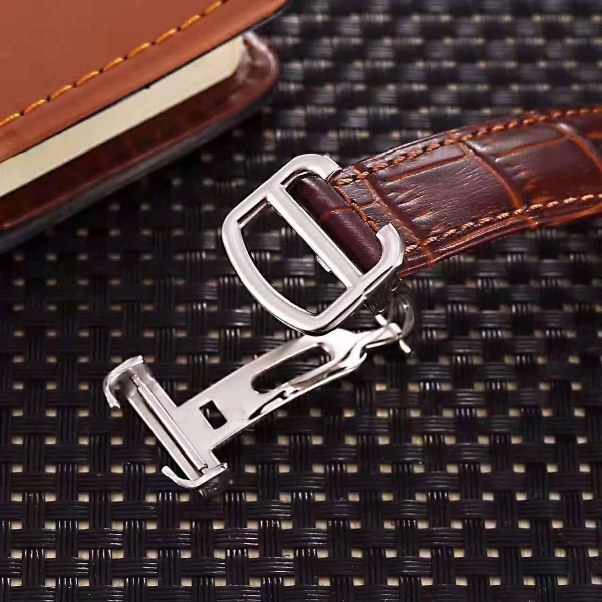 新品 Cartier 自動巻 スケルトン 腕時計 メンズ ウォッチ_画像3
